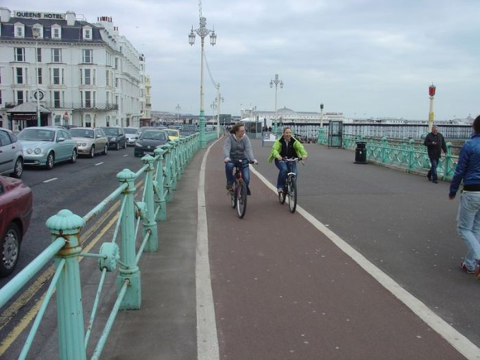 Cycle Path along Brighton sea front