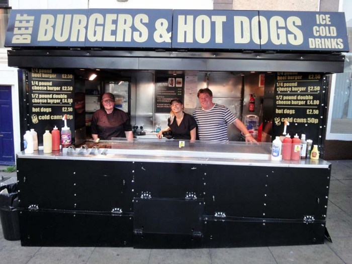 Churchill Square Hot Dog Stand