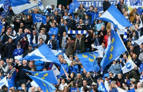 Brighton and Hove Albion v Wigan Athletic - Sky Bet Championship - AMEX Stadium
